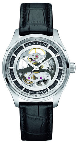 Hamilton Watch American Classic Jazzmaster Viewmatic Skeleton H42555751