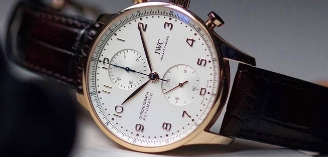 Unboxing the STUNNING IWC Portugieser Chronograph IW371611