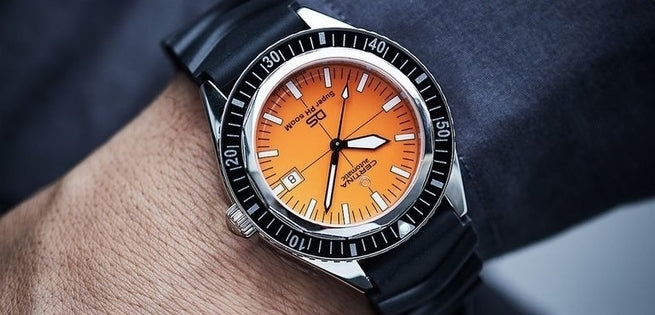 Certina - Why an orange dial on the NEW DS Super?