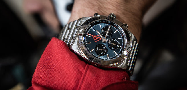 Breitling - NEW Red Arrows Chronomat Limited Edition Revealed