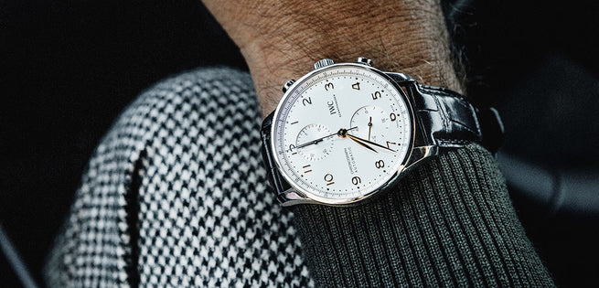 Unboxing the STUNNING IWC Portugieser Chrono IW371604 Watch