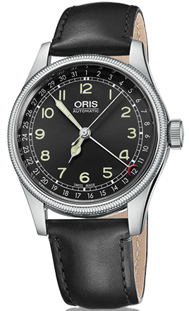 Oris Watch Big Crown Original Pointer Date Leather