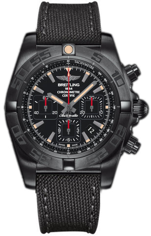 Breitling Watch Chronomat 44 Blacksteel Onyx Black