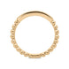 18ct Rose Gold 0.12ct Diamond Stacking Ring BLC-097