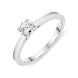 18ct White Gold 0.41ct Brilliant Cut Diamond Solitaire Ring BLC-075