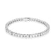 18ct White Gold 7.21ct Diamond Tennis Bracelet ABR243W