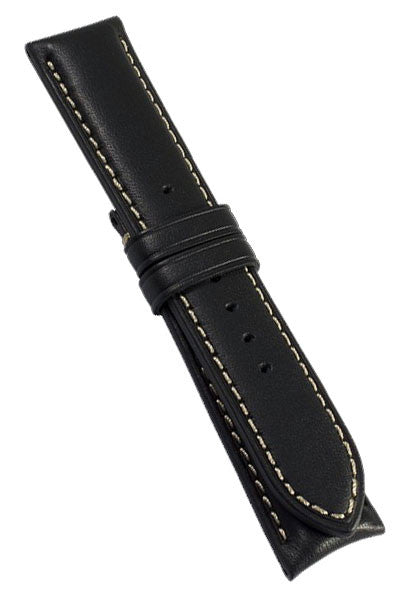 Bremont Leather Strap 22mm Black D