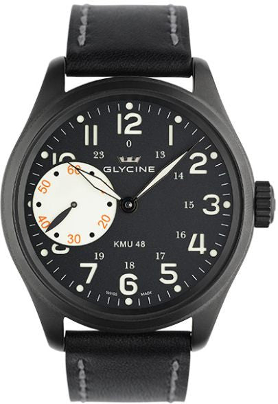 Glycine Watch KMU 48 Limited Big Second 9 Hours Limited Edition