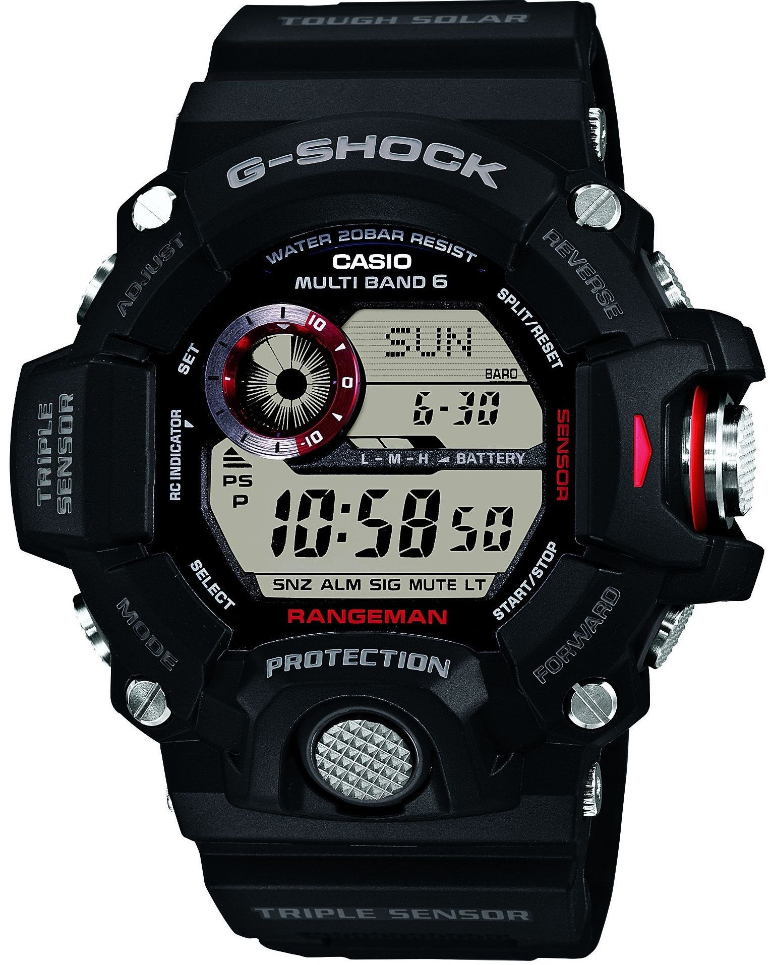 G-Shock Watch Rangeman Alarm Chronograph