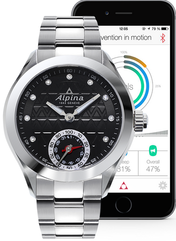 Alpina Watch Horological Smartwatch Motion X Quartz