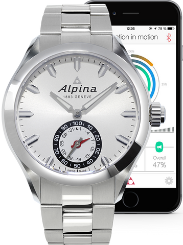 Alpina Horological Smartwatch Motion X Quartz
