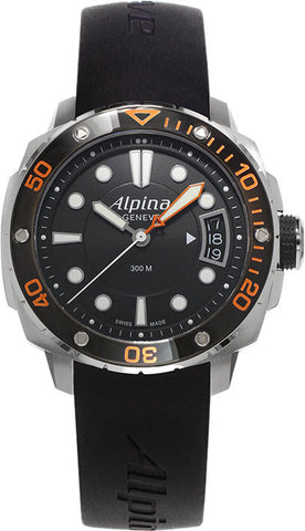 Alpina Watch Seastrong Lady Diver 300 Orange
