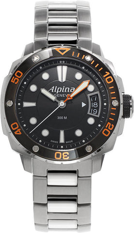 Alpina Watch Seastrong Lady Diver 300 Orange D