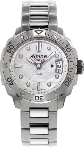Alpina Seastrong Lady Diver 300 Diamonds