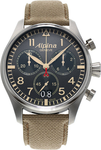 Alpina Watch Startimer Pilot Quartz Chronograph