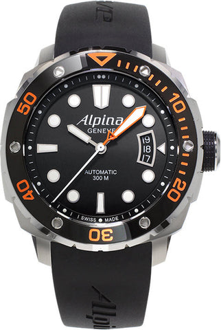 Alpina Watch Seastrong Diver 300 Orange