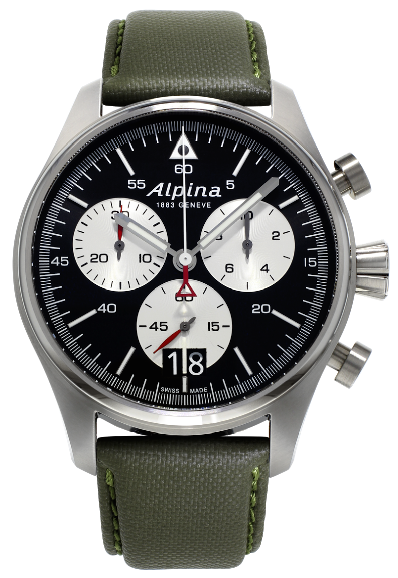 Alpina Watch Startimer Pilot Big Date Chronograph D