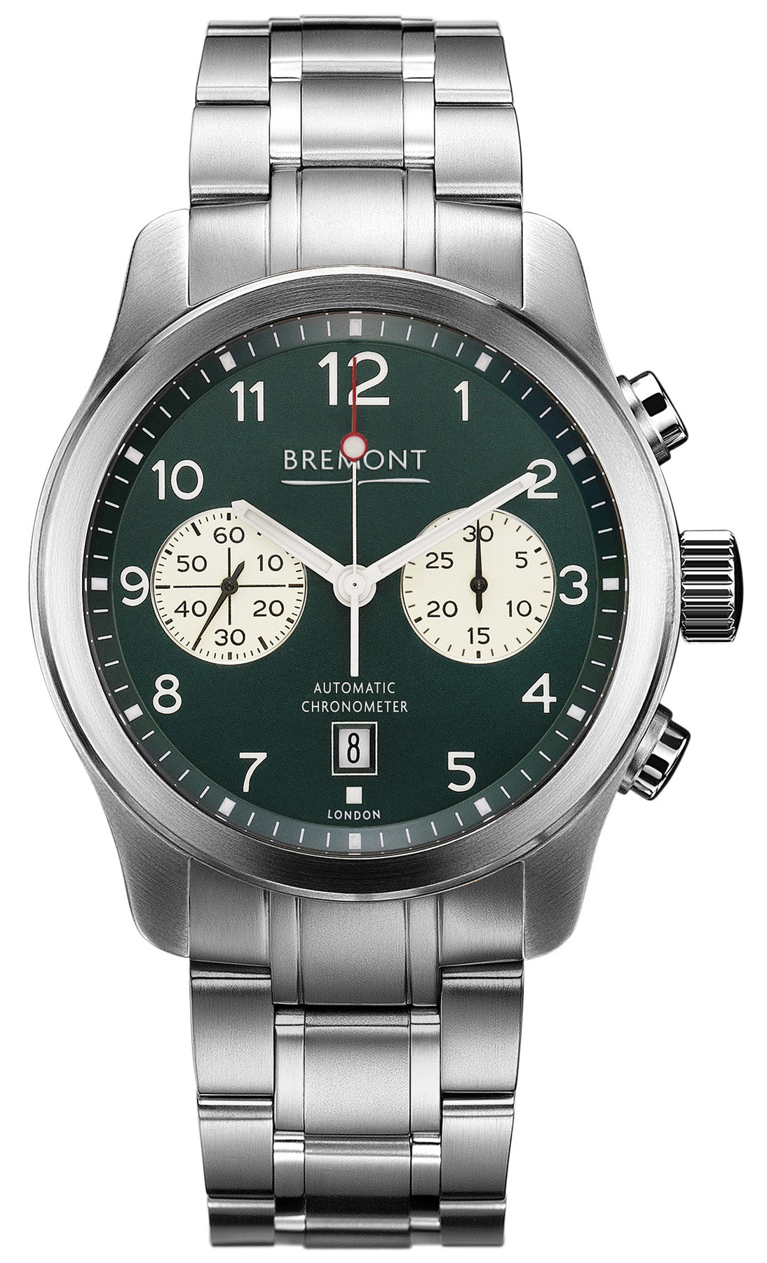 Bremont Watch ALT1-C Green Bracelet