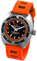 Aquadive Watch Bathysphere 100 GMT Orange