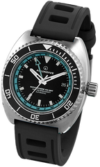Aquadive Watch Bathysphere 100 GMT Teal