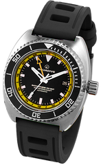 Aquadive Watch Bathysphere 100 GMT Yellow