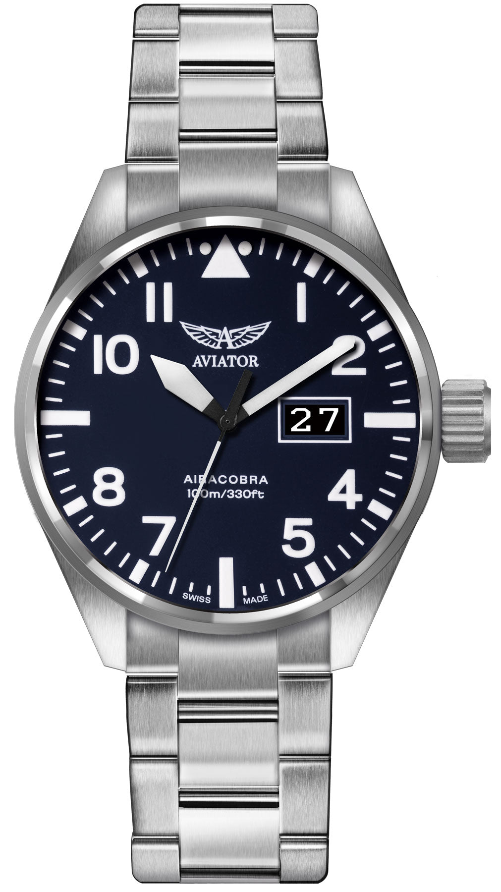 Aviator Watch Airacobra Mens D
