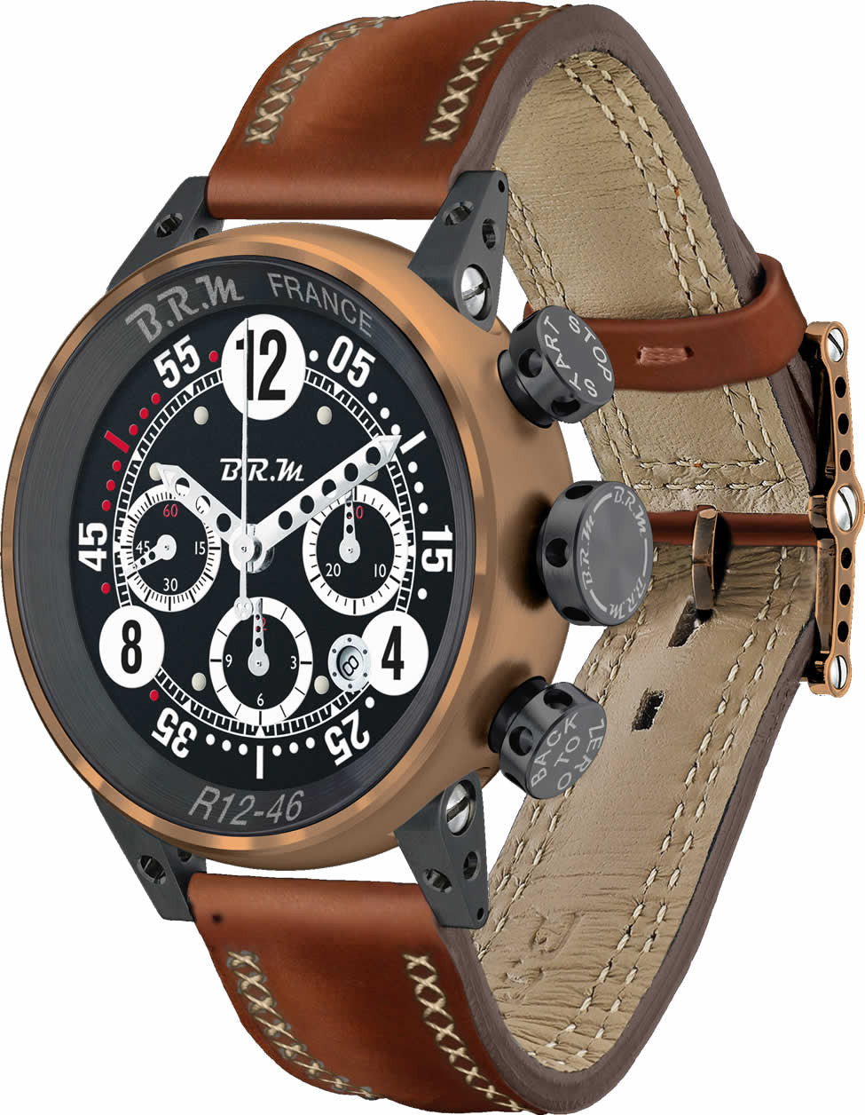 B.R.M Watch R12-46 Bronze