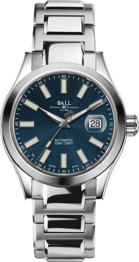 Ball watch company engineer ii marvelight blue nm2026c s6j be watch for Ball watches