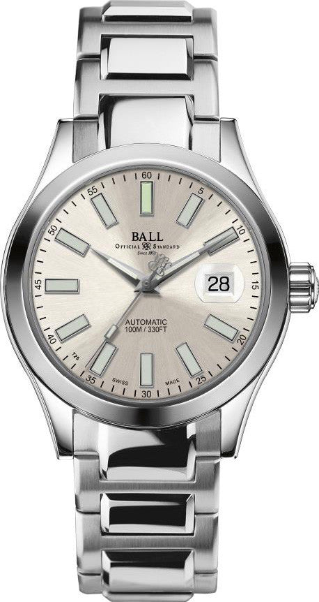 Ball Watch Company Engineer II Marvelight Silver