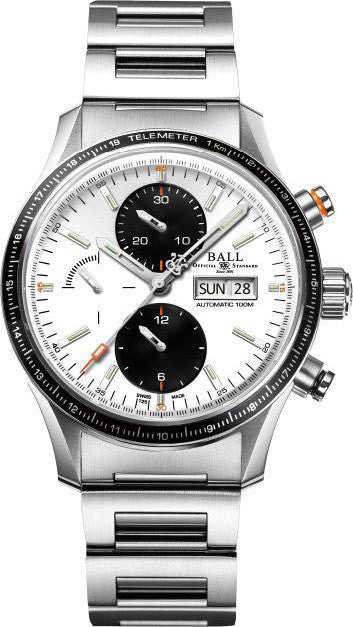 Ball Watch Company Fireman Storm Chaser Pro White