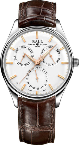 Ball Watch Company Trainmaster Annual Calendar D