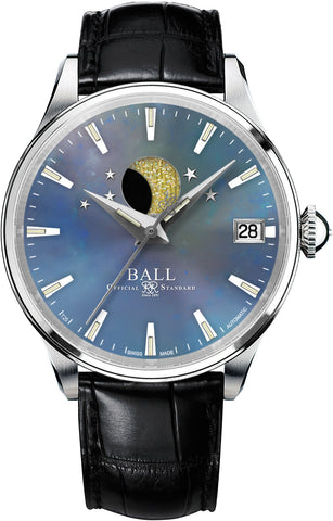 Ball Watch Company Trainmaster Moon Phase Ladies