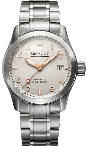 Bremont Watch Solo 37mm Rose Gold Bracelet