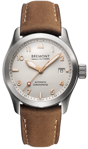 Bremont Watch Solo 37mm Rose Dial Numerals