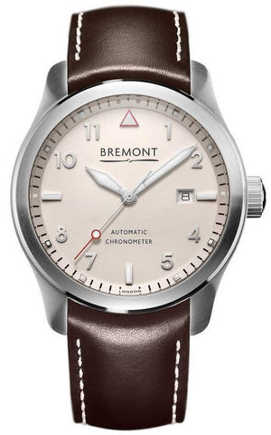 Bremont Watch Solo 43 White Si