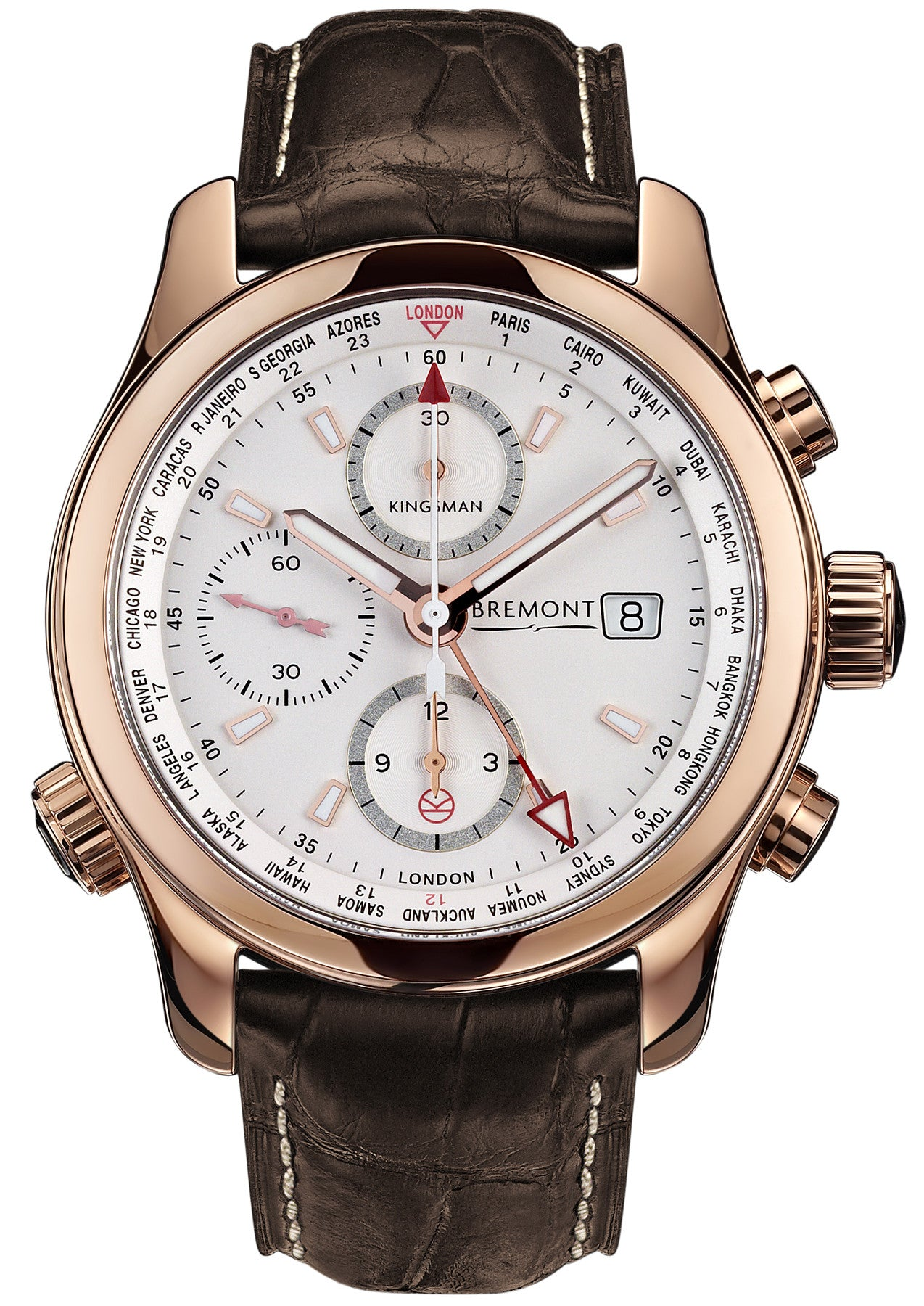 Bremont Watch Kingsman Special Edition Rose Gold