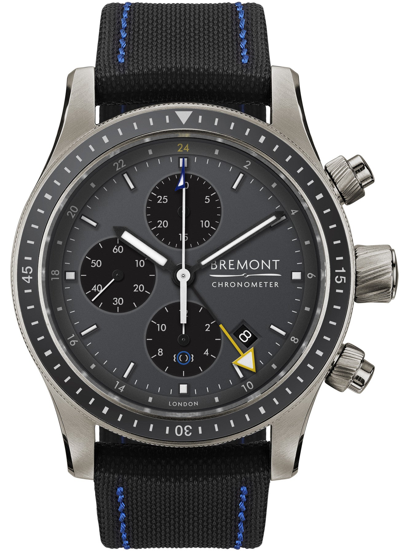 Bremont Watch Boeing Model 247 Ti-GMT