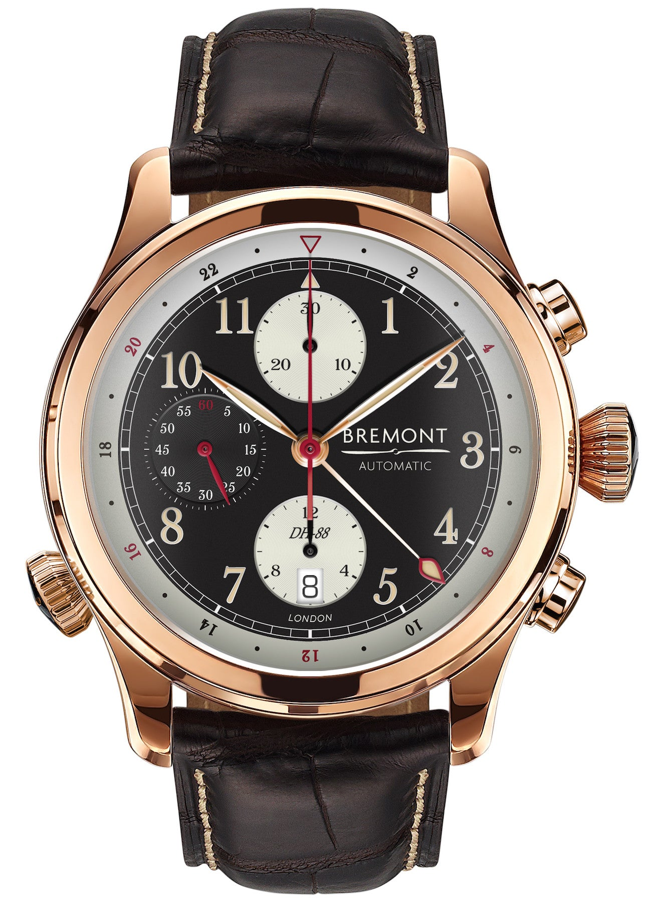 Limited Edition Birthday Collection: Bremont Watch DH-88 Rose Gold Limited Edition Pre-Order DH