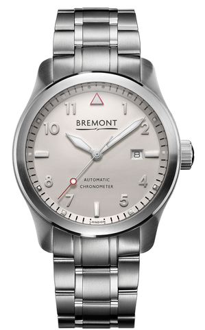 Bremont Watch Solo 43 White Si Bracelet