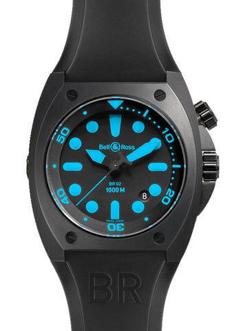 Bell & Ross Watch BR 02 Blue