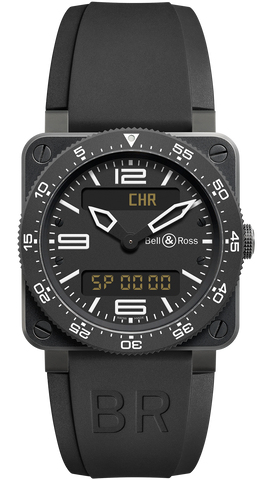 Bell & Ross Watch BR 03 92 Type Aviation Black Carbon D