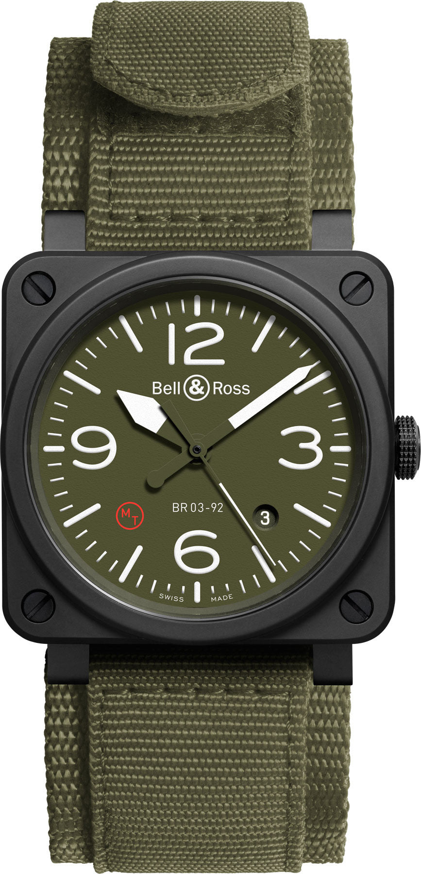 Bell & Ross Watch BR 03 92 Military Type