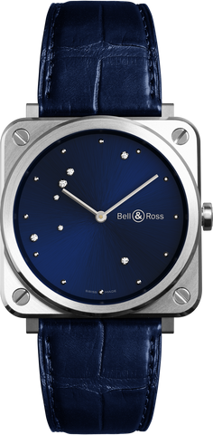 Bell & Ross Watch BRS Blue Diamond Eagle