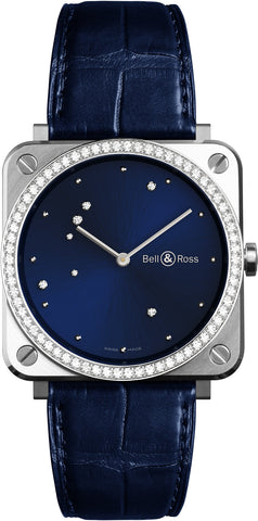 Bell & Ross Watch BR S Diamond Eagle Diamonds