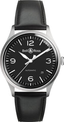 Bell & Ross Watch Vintage BR V1-92 Black Steel