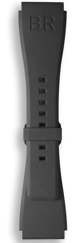 Bell & Ross Strap BRS Rubber Black