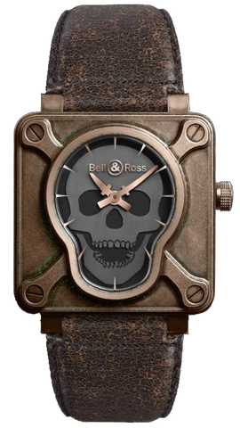 Bell & Ross Watch BR 01 Skull Bronze Limited Edition