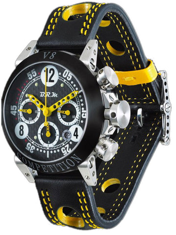 B.R.M Watch V8-44 Yellow Hands