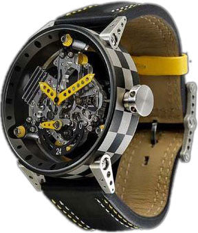 B.R.M. Watches R-50-TN Yellow Hands