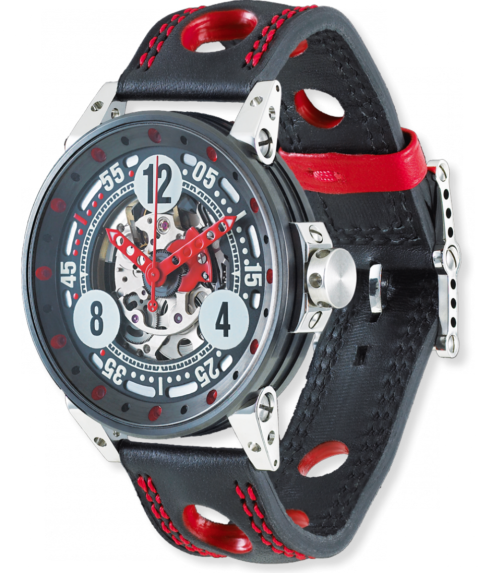 B.R.M. Watches V6-44 Sport Red Hands